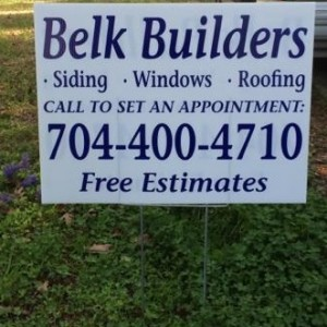 Belk Builders is the best  choice for your siding replacement needs
