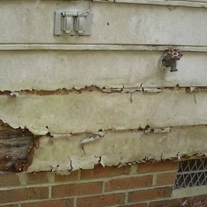 Over time rain and moisture can compromise vulnerable areas of your home's exterior