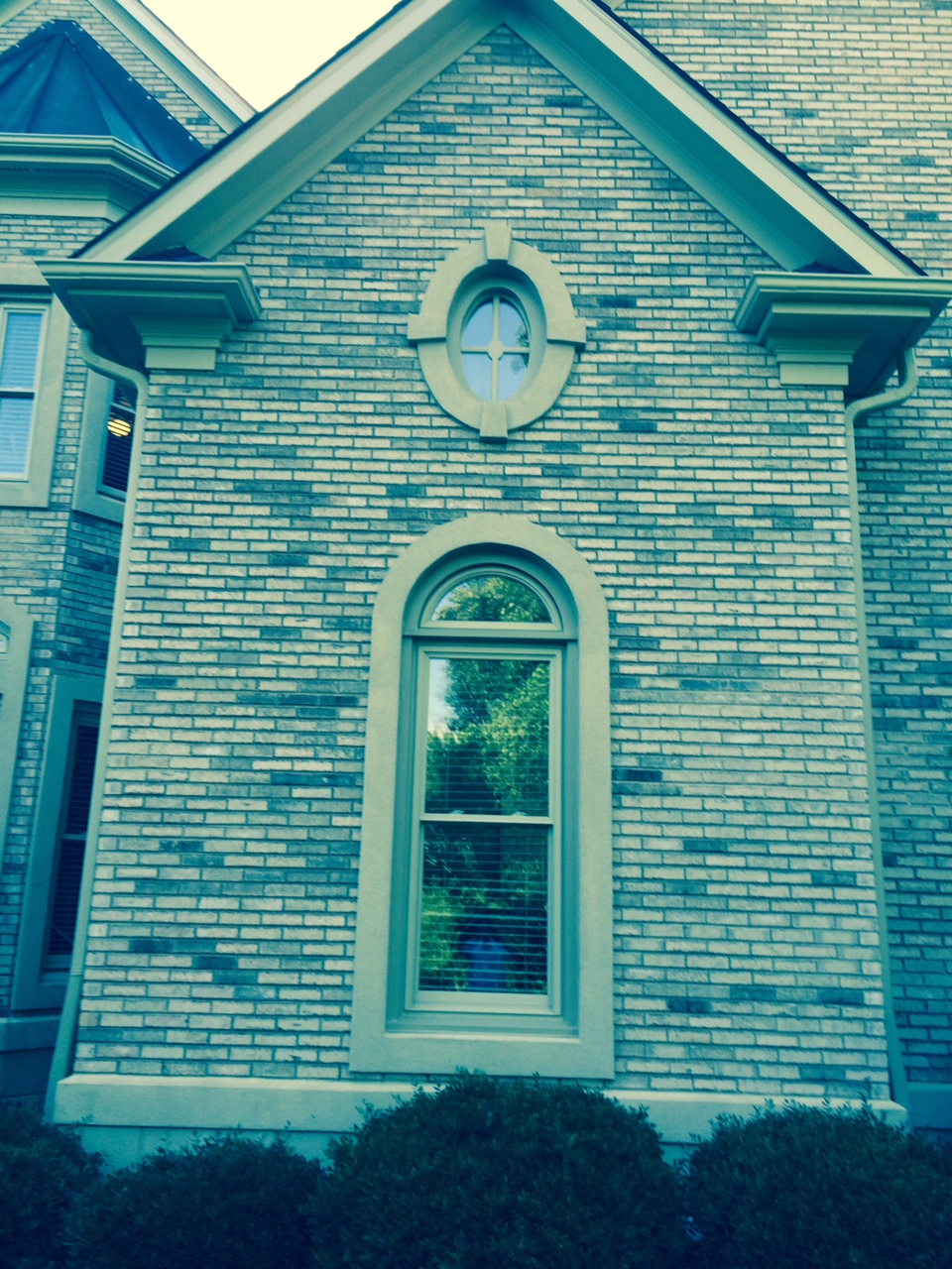 Belk builders attention to detail in upscale window for Arch window replacement