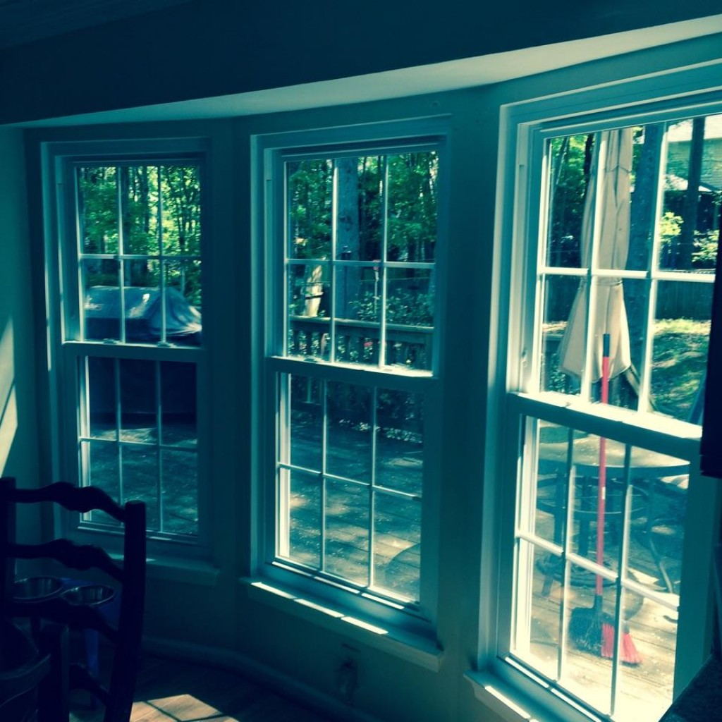 Charlotte window installation by Belk Builders