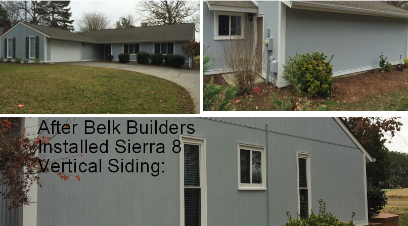 "Belk Builders completes a siding replacement in South Charlotte that will leave you ""green"" with ..."
