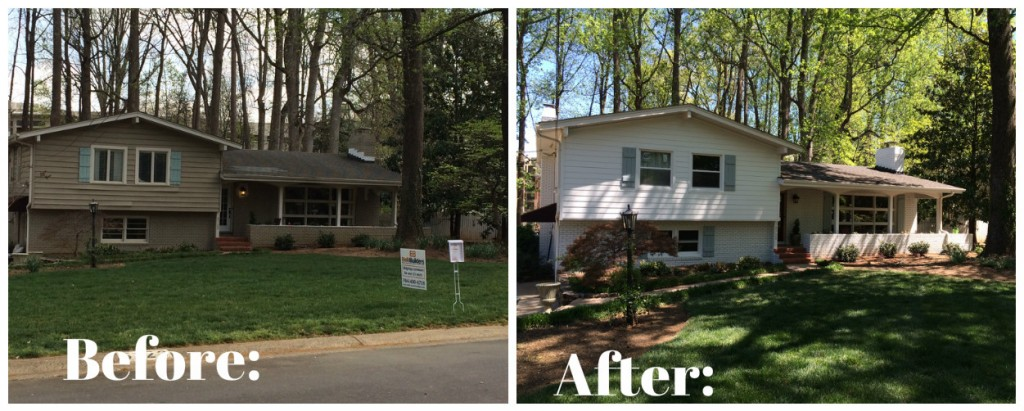 Before After near SouthPark Mall by Belk Builders