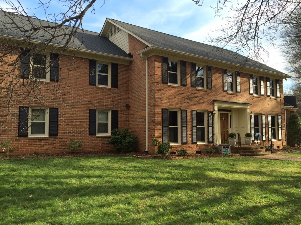 Window Replacement of Park Road in South Charlotte by Belk Builders