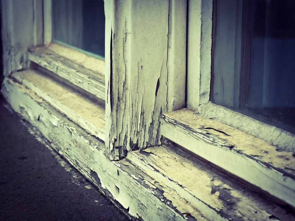 old drafty windows