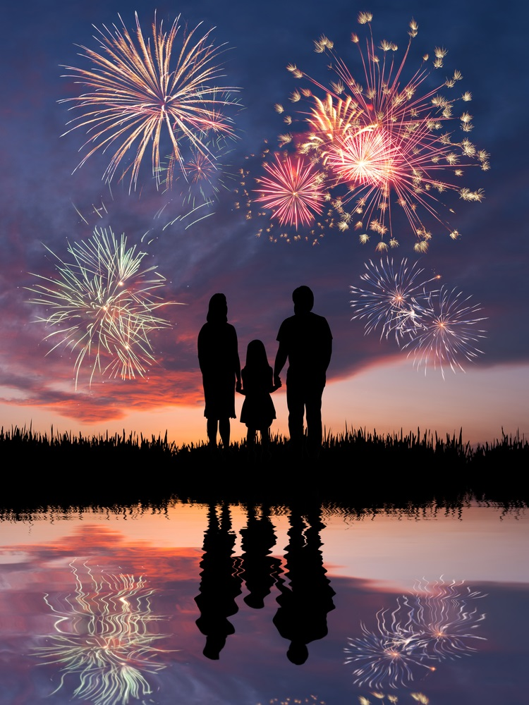 Where are the Fourth of July fireworks in the Charlotte area?