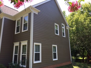 South Charlotte Hardiplank Siding and window replacement