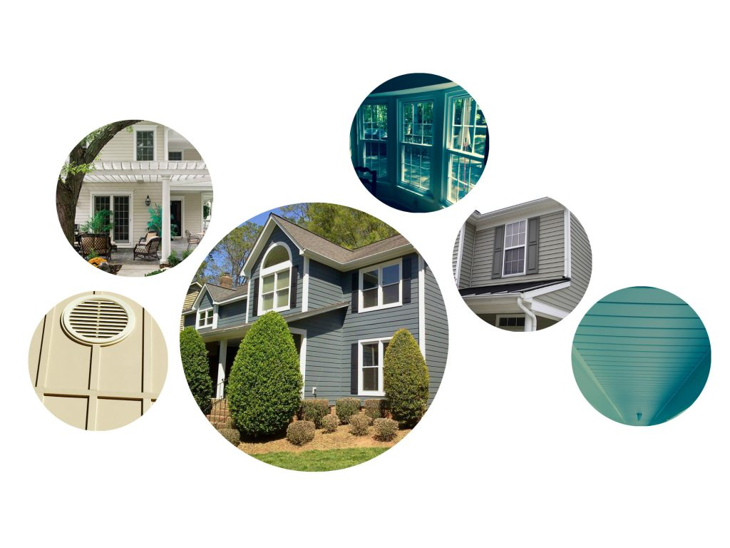 Services Collage for Belk Builders