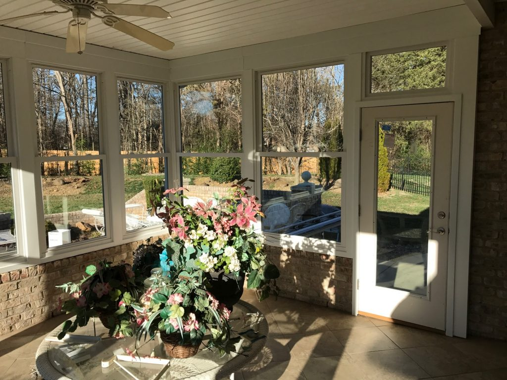 Simonton Windows in Concord Sunroom