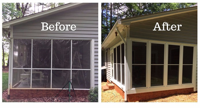 Before and After in Belmont NC