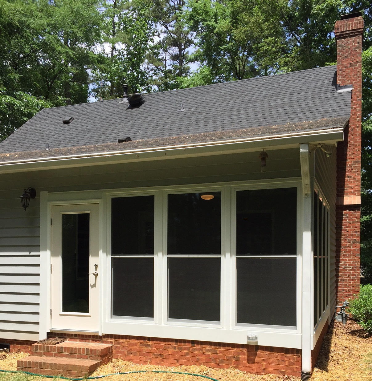 Belmont NC Screened Porch to Sunroom Conversion