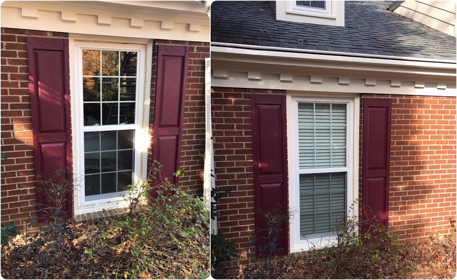Before and After Windows in Matthews NC (1)