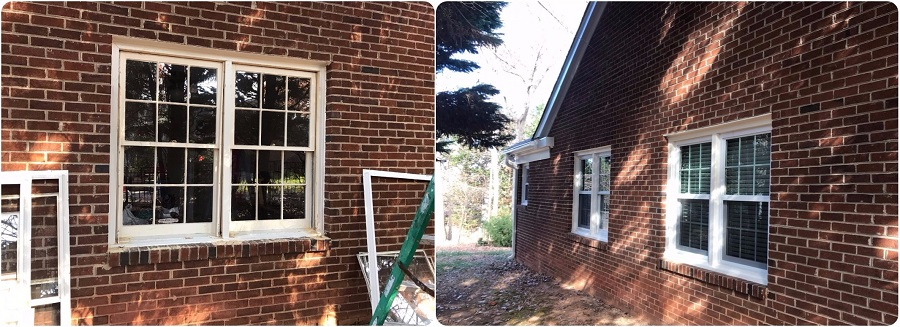 More Before and After Window Replacement in Matthews