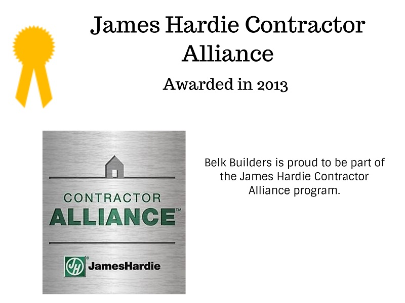 Custom JHCA logo for Belk Builders
