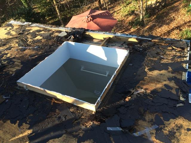 Belk Builders encountered mold on the roof of this Charlotte home