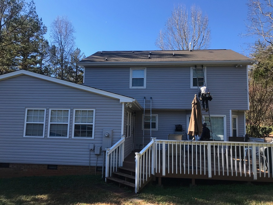 Mint Hill Vinyl Siding Replacement by Belk Builders