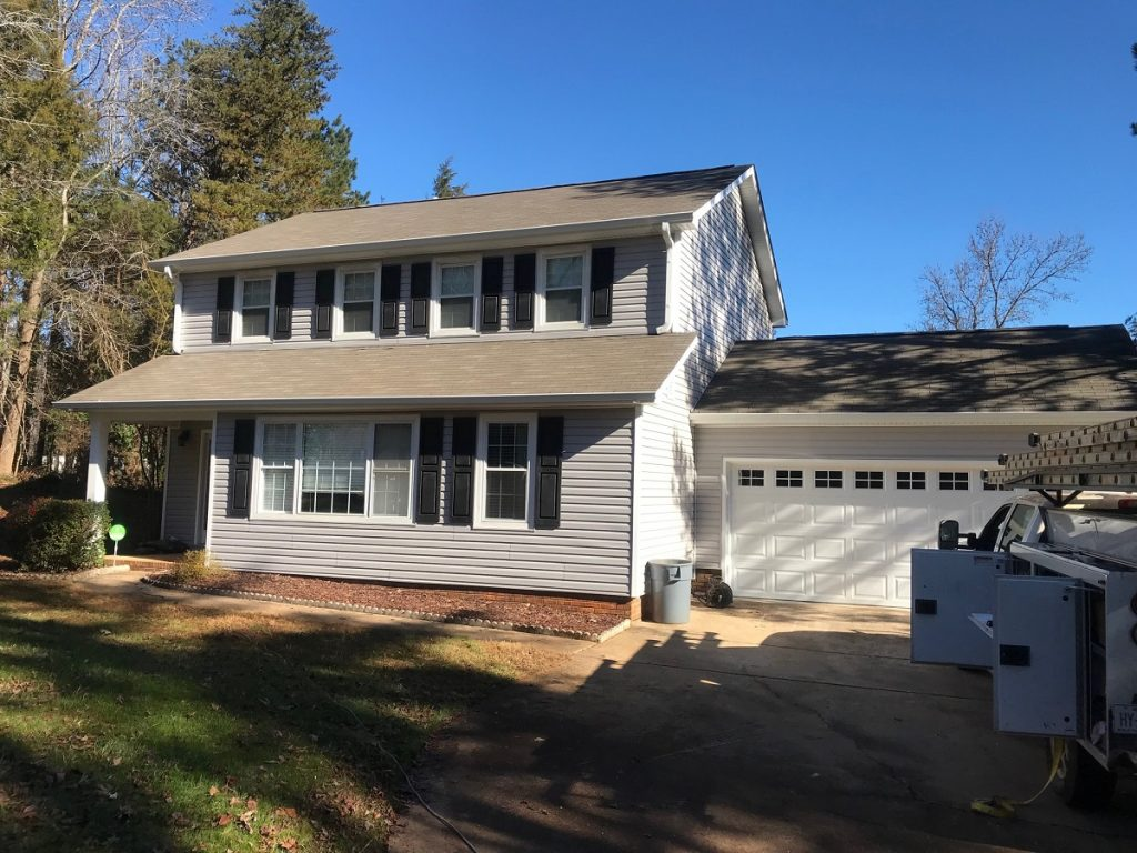 Mint Hill Vinyl siding Mastic Belk Builders