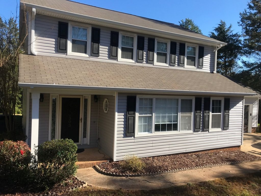 Mint Hill Vinyl siding Mastic Double 5 by Belk Builders