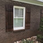 Belk Builder custom made shutters for project in Lake Norman