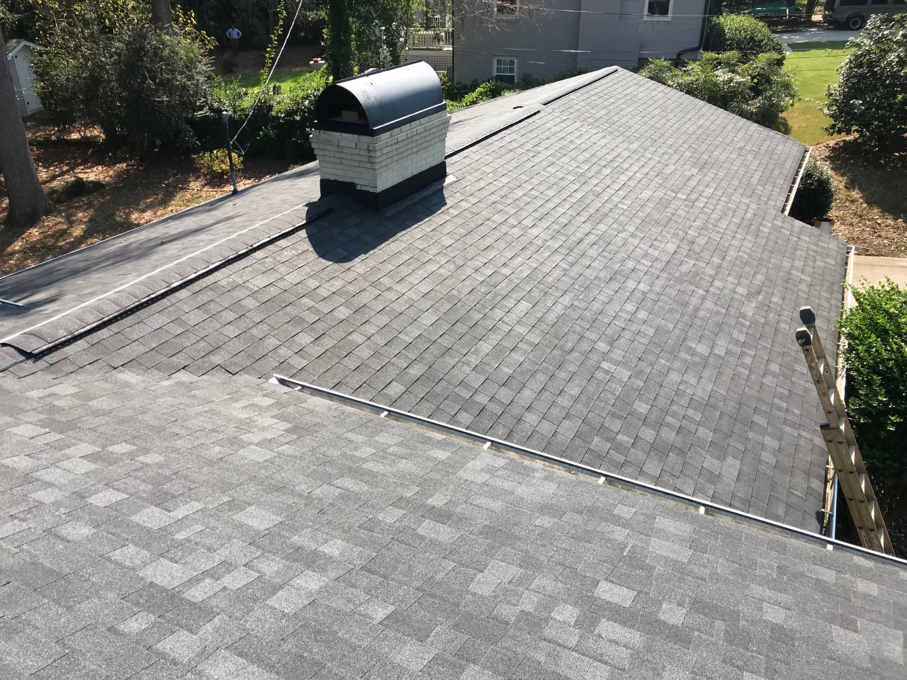 Completed south charlotte roof replacement