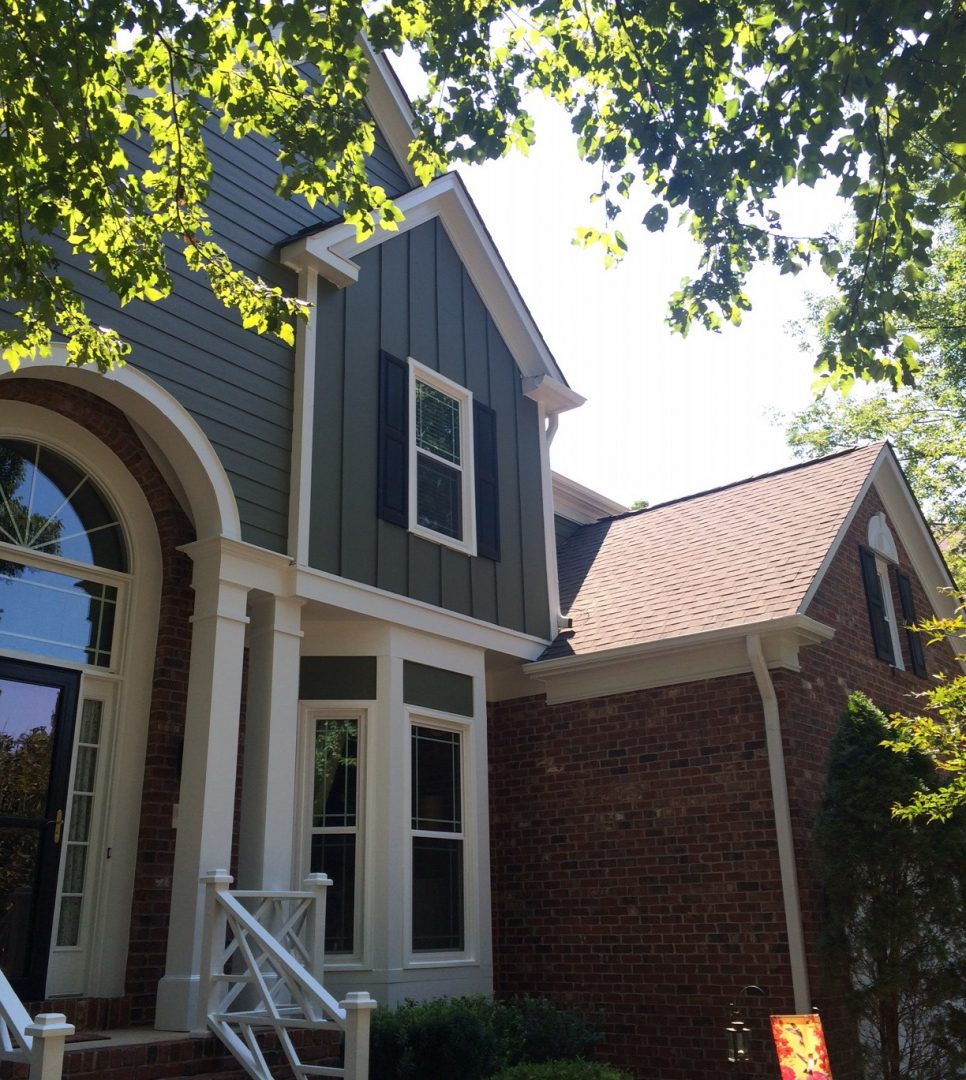 HardiePlank Siding in South Charlotte