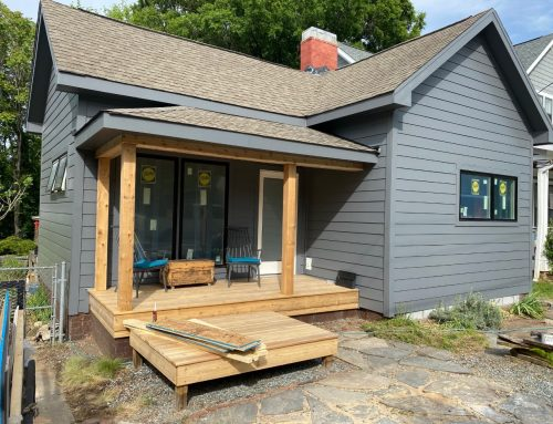 NoDa Bungalow Receives Massive Rehab—Siding, Windows, and More!