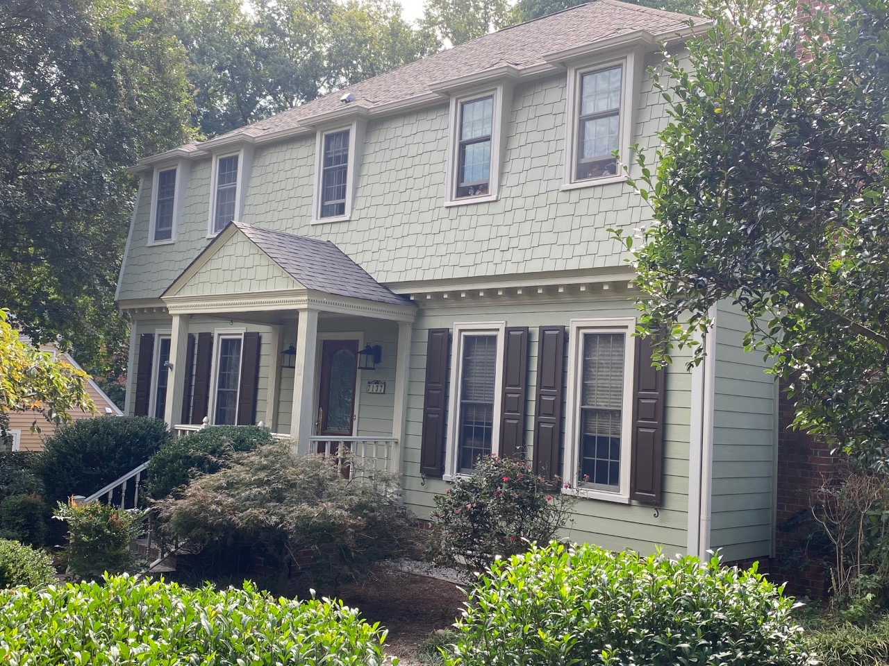 charlotte hardieplank siding home exterior makeover
