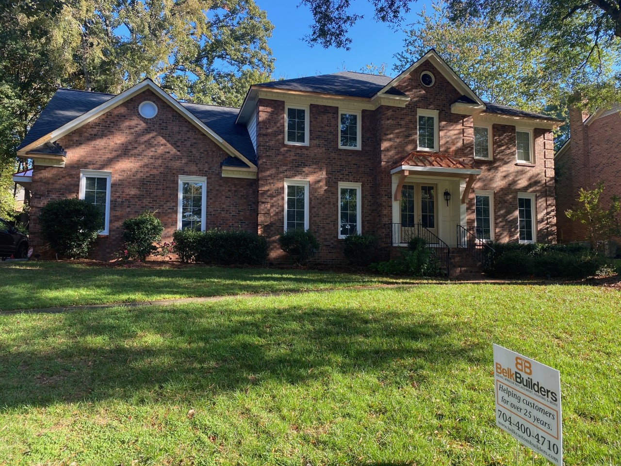 south charlotte copper roofing accent installer