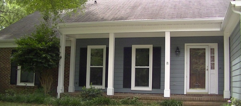 This South Charlotte before and after exterior transformation will help you realize the potential of your home!