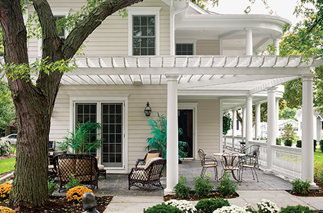 Cottage Chic The Welcoming Exterior With Low Maintenance