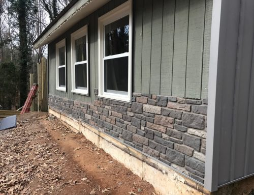 Board and Batten Vinyl Siding Creates Unique Look for SC Home