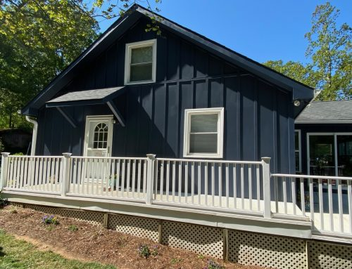 High Rock Lake Vacation Bungalow Receives Dramatic Makeover