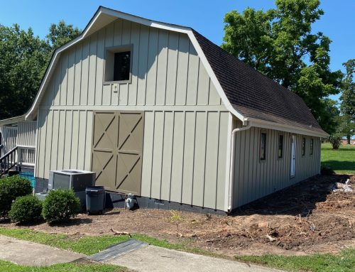 Waxhaw Barn-Inspired Clubhouse Receives Exterior Board and Batten Update