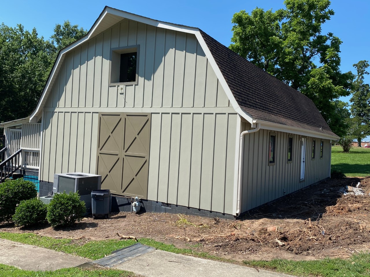 waxhaw board and batten siding