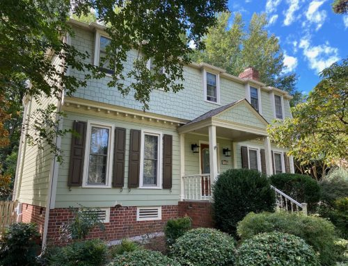 Exterior Transformations: HardiePlank® Siding Refreshes South Charlotte Home