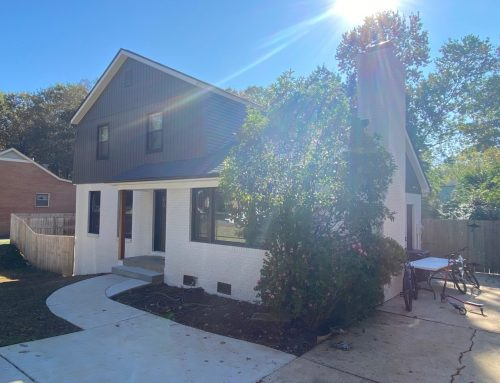 Modern Farmhouse Look Inspires South Charlotte Split-Level Renovation