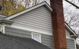 South Charlotte vinyl shake and metal roofing
