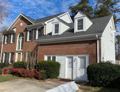 New HardiePlank® Siding Makes Brick Home More Low Maintenance