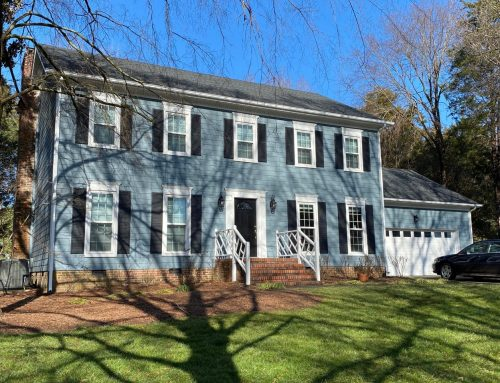 HardiePlank® Siding and Window Upgrades Update South Charlotte Home