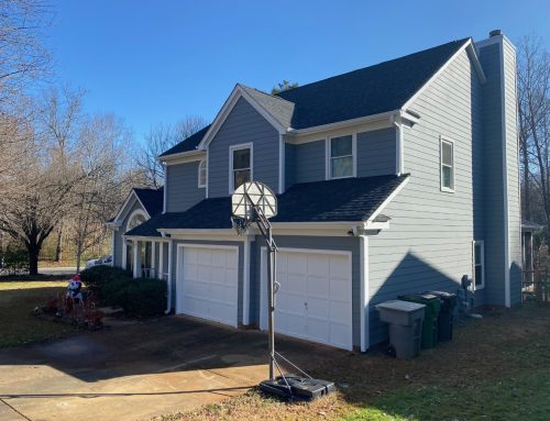 University Area Home Receives New HardiePlank® Siding and Vinyl Windows