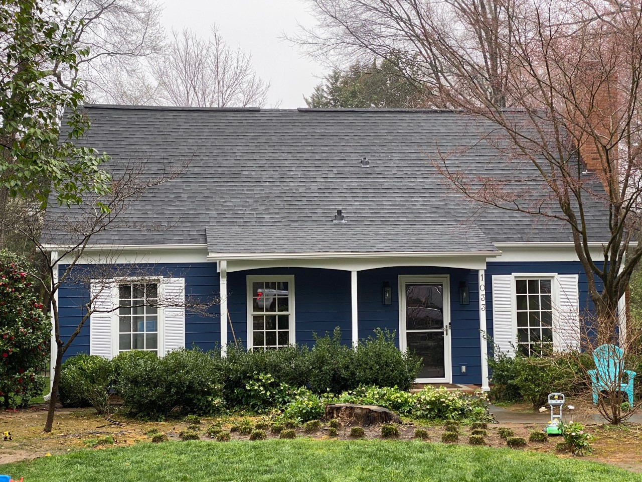 Completed roofing and Hardie . Goshen Place, Charlotte. 28211