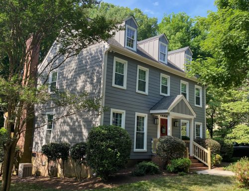 South Charlotte Two-Story Gets Fresh Look with HardiePlank® Siding