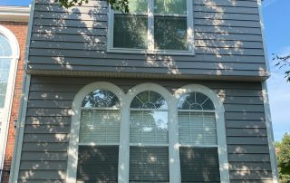 Completed insulated vinyl siding. Palladium place. Charlotte. 28269