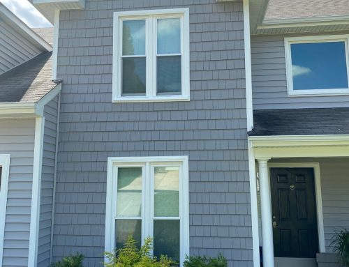 New Vinyl Siding and Finishing Touches Create Dramatic Transformation for Concord House