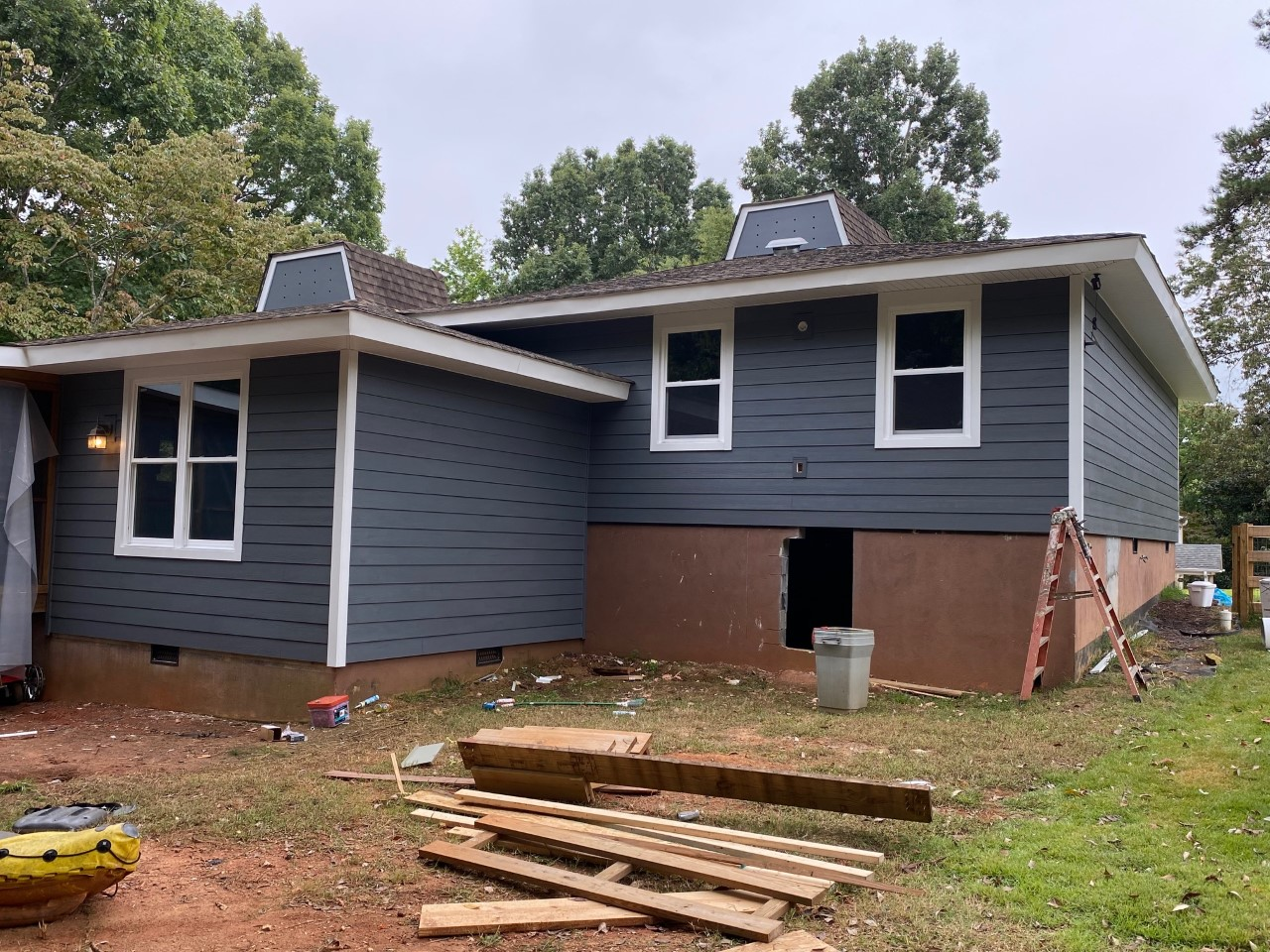 tega cay during project hardie plank