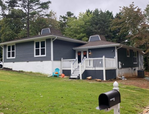 Tega Cay House Receives Total Exterior Makeover—Siding, Windows, Door, and More!